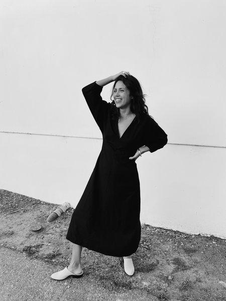 Dal Rae Jimena Silk Dress - Black