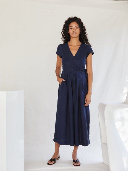 Sugar Candy Mountain The Angela Jumpsuit - Navy