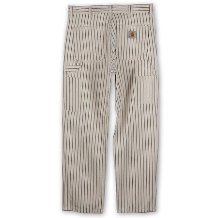 Carhartt WIP Trade Single Knee Pant Wax - Black Rinsed