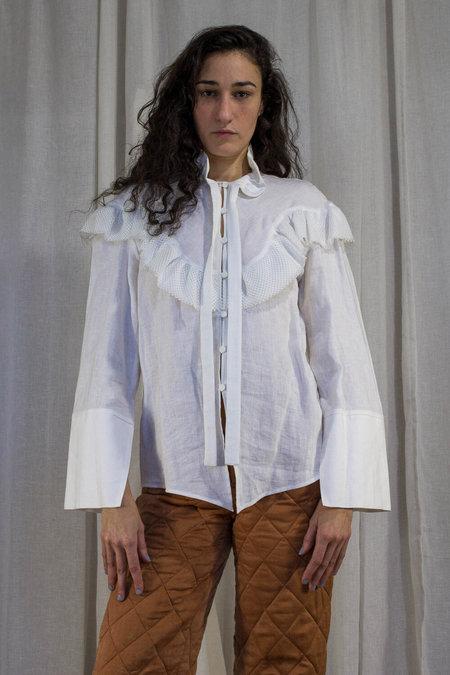Kahle Prairie Button Down - White