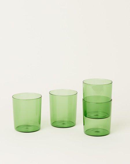 Maison Balzac Set of 4 Goblets - Green