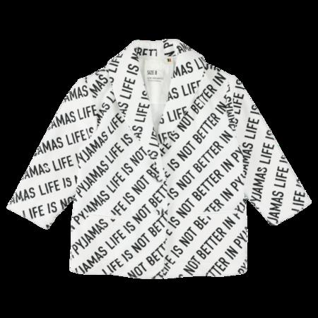 Kids caroline bosmans terry jacket - life