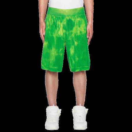GCDS Basket Logo SS21M030001-51 Pants - Lime