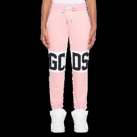 GCDS Logo Band Women CC94W031001-06 Sweatpants - Pink