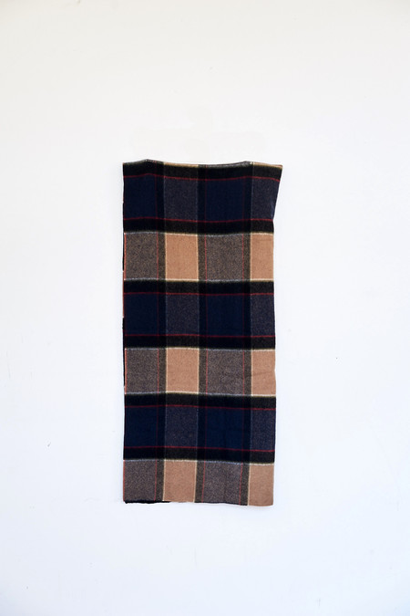 Standard Form Wool/Cashmere Neoplaid Large Scarf