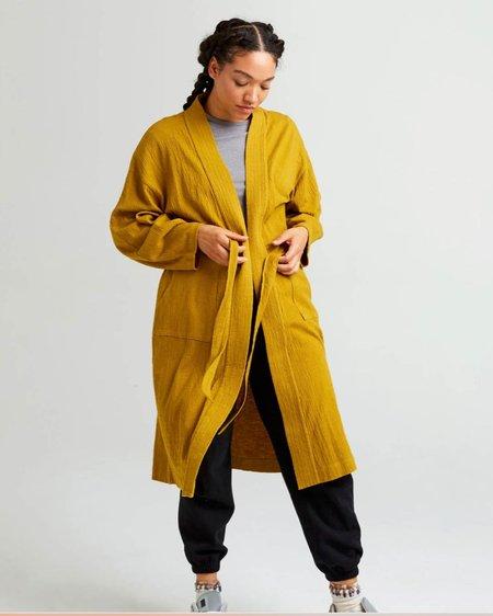 Richer Poorer Cloud Robe Coat - Golden Verde