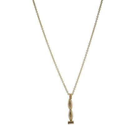 Ellen Mote Jewelry Long Abi Necklace - 14k gold fill