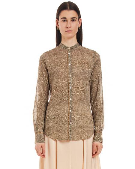 Forte Forte Shirt with Print - Khaki