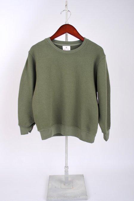 Sundry 3/4 Sleeve Sweatshirt - Olive
