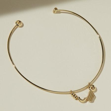 Lindsay Lewis Jewelry Emmett Collar - Gold