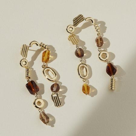 Lindsay Lewis Jewelry Avery Earrings - Autumn