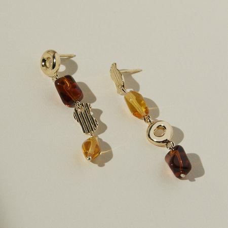 Lindsay Lewis Jewelry Ellis Earrings - Gold