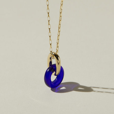 Lindsay Lewis Jewelry Anna Necklace - Cobalt