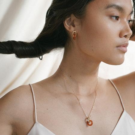 Lindsay Lewis Jewelry Anna Necklace - Carnelian