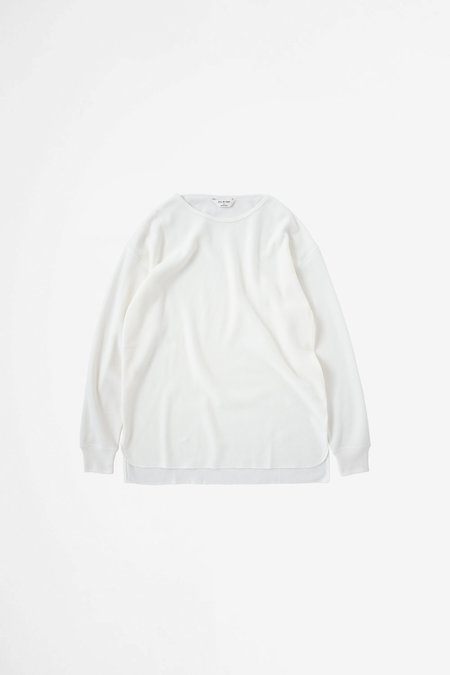 Still By Hand Thermal long sleeve - white