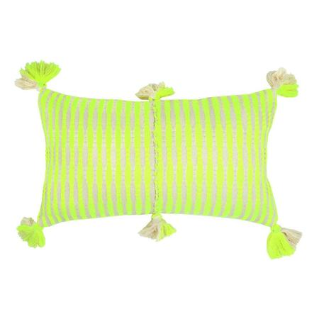 Archive New York Made to order Antigua Pillow - Neon Yellow