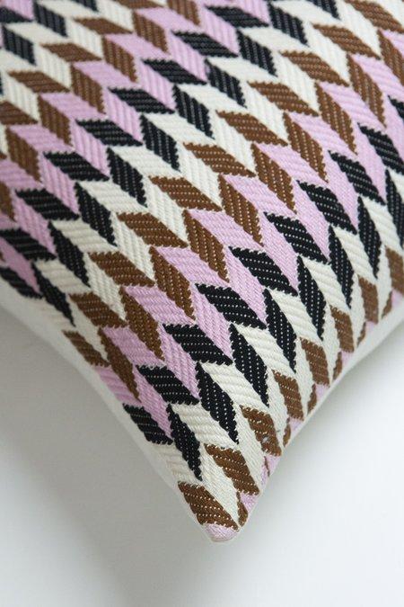 Archive New York Almolonga 70s Dream Pillow 20 x 20 - Pink/Brown