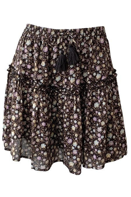 SPELL & THE GYPSY COLLECTIVE Rae Mini Skirt - Black