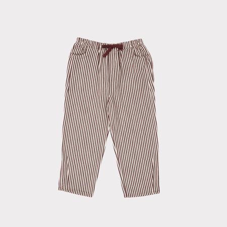 Kids Caramel Squid Trouser - Brown Stripe