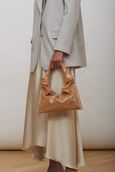 Little Liffner Knot Evening Bag - Tan