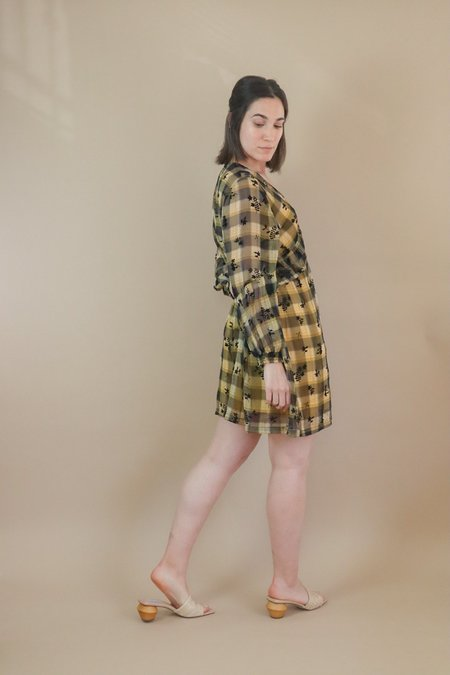 Orfeo Vega Dress - Tartan Floral