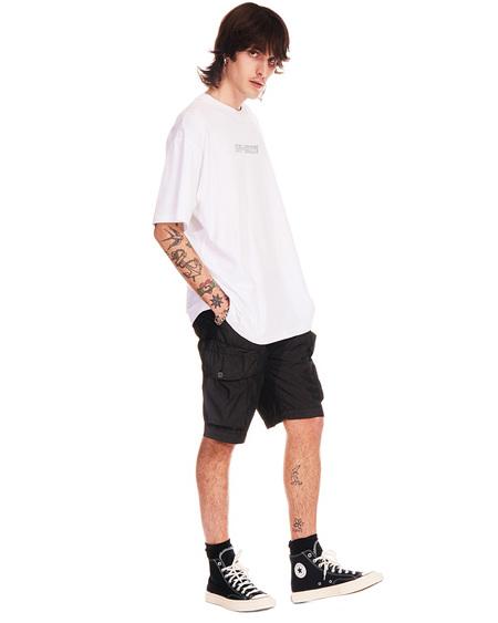 Off-White Cargo Logo Shorts - black