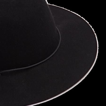 Westerlind Felt Cord Hat - Black