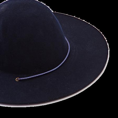 Westerlind Felt Cord Hat - Navy