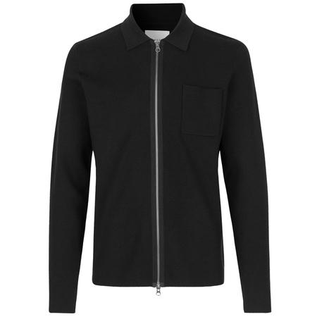 Samsoe Samsoe Guna X Zip Sweater - Black