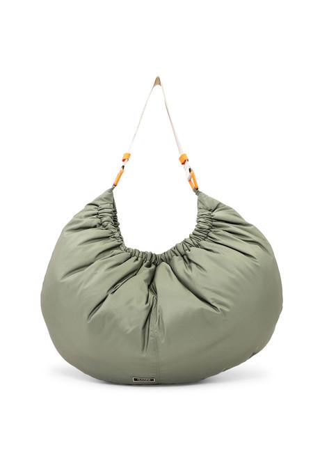 Ganni Recycled Nylon XXL Bag - Olive