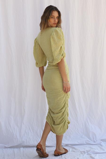 Jen's Pirate Booty Hillview Midi Dress - Saguaro