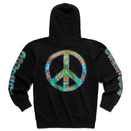 Chinatown Market Hippie Hoodie sweater - Black