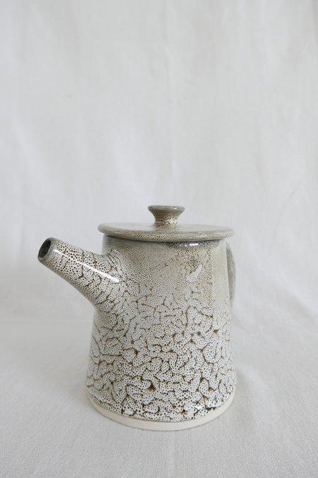 Mervyn Gers Teapot - Ostrich Egg Glaze