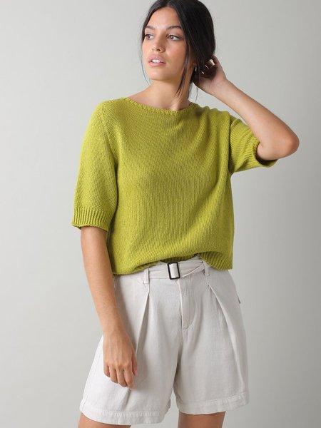 Indi & Cold Belted Shorts - Crudo