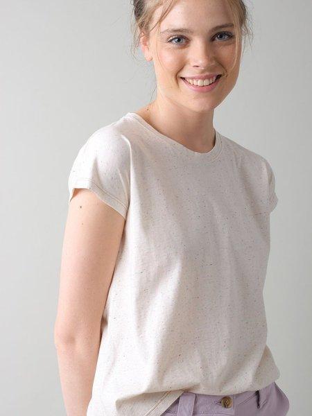 Indi & Cold Speckle T-Shirt - Crudo