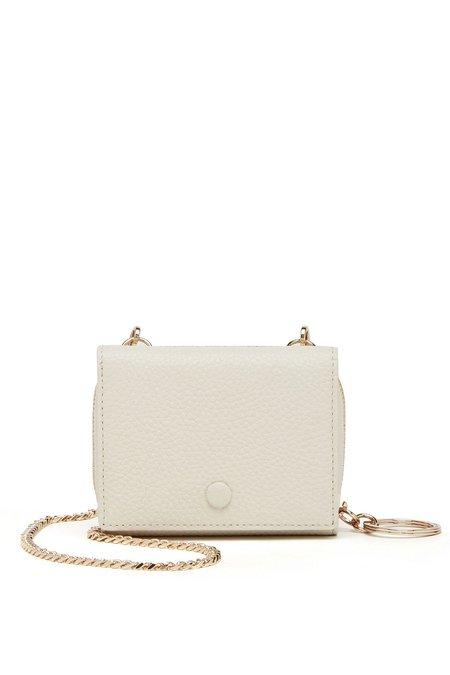 OAD Mini Zip Chain Wallet - Creme