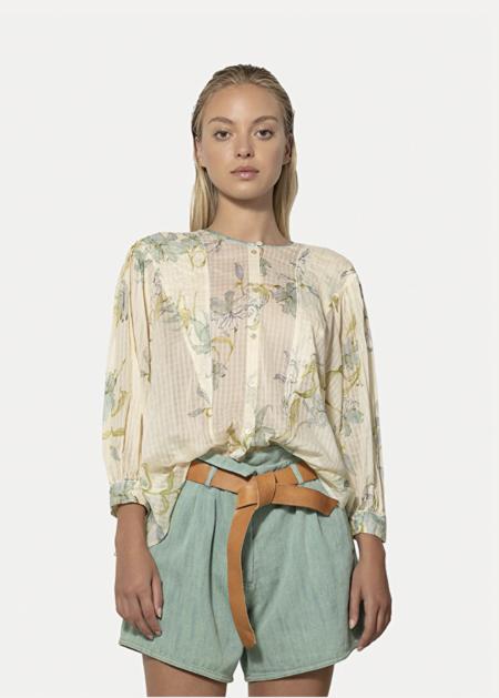 Forte Forte My Shirt - Gelsomina Print Shirt