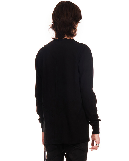 Rick Owens DRKSHDW Long Sleeves Level Shirt - black