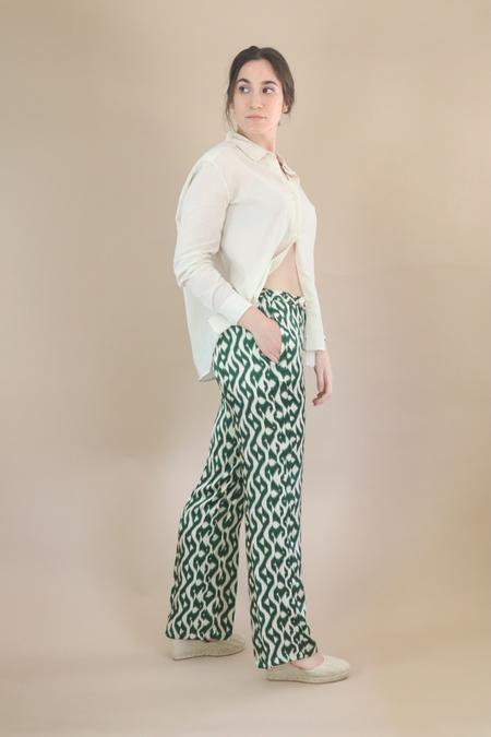 Diega Paris Patayo Pants - Leopard Print