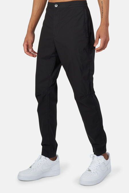 Stone Island Garment Dyed Stretch Trousers - Black