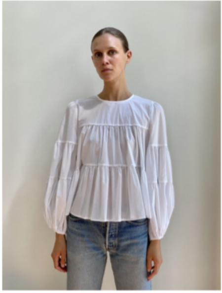 Secular Bridgette Shirt - White