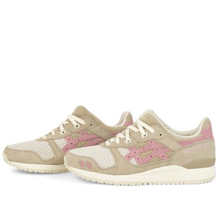 Asics gel-lyte iii og Sneaker - Wood Crepe/Blossum