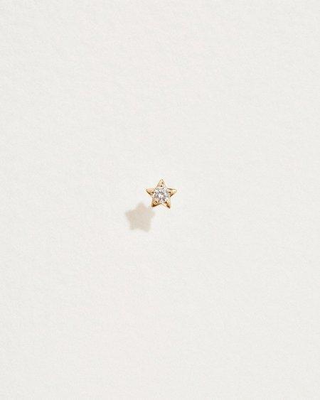 Pamela Love Midnight Star Stud - 14k gold
