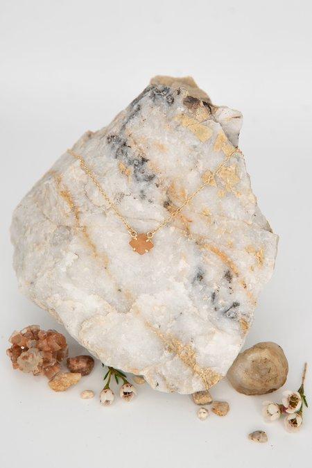 Jess Meany 11 Stone Necklace - 14k gold-filled