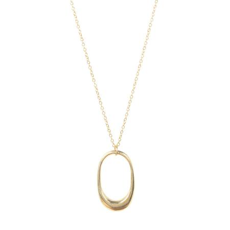 Soko Delicate Mezi Necklace - 24k gold plated brass