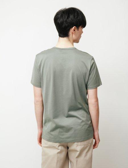 Sunspel SS Crew Neck T-Shirt - Light Khaki