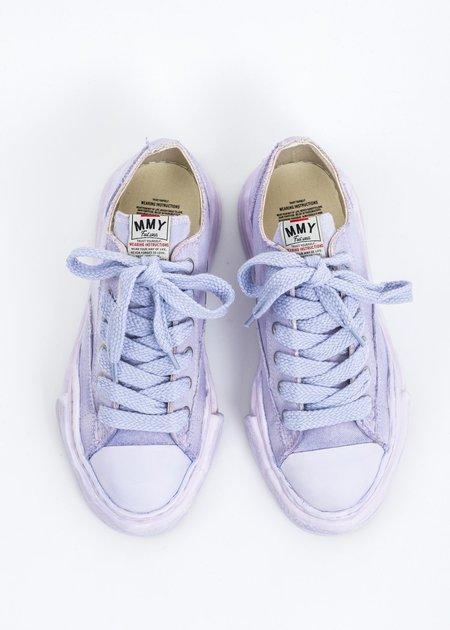 Mihara Yasuhiro Original Sole Overdyed Canvas PETERSON LOW Sneaker - Purple