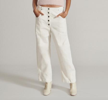 Rachel Comey Elkin Jean - Dirty White