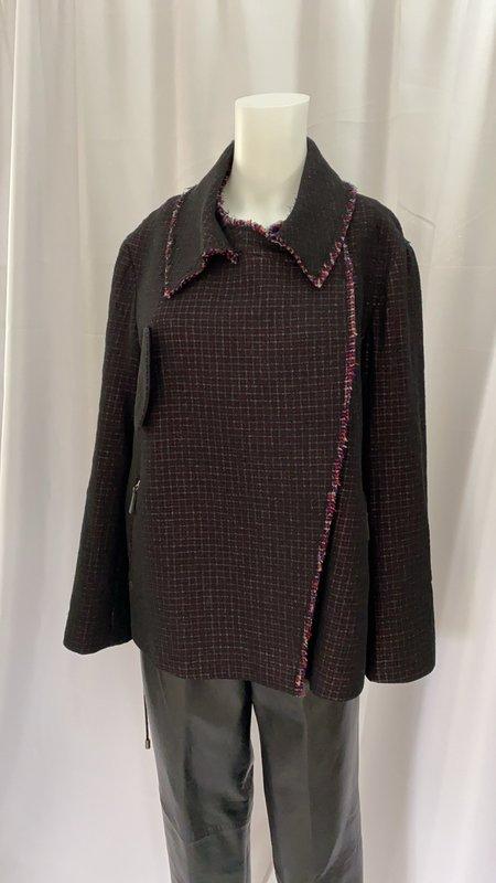 Pre-loved JIL SANDER Tweed Wool Jacket - multi
