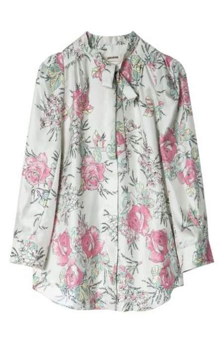 Zadig & Voltaire Touch Twill Blouse - Floral